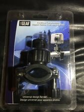 USA Gear Rollbar and Handlebar Action Camera Mount with Tripod Screw and Action