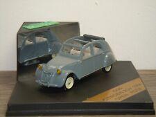 Citroen 2CV Open Roof 1954  - Vitesse 009 - 1:43 in Box *38712