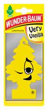 Wunderbaum® 10 Stück Very Vanilla Lufterfrischer Duftbaum Duft Auto Vanille