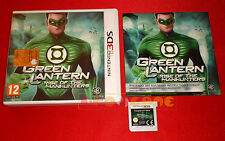 GREEN LANTERN Lanterna Verde Nintendo 3Ds Ver UK Gioco in Italiano ○ USATO - DT
