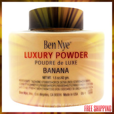 Ben Nye Luxury Banana Powder 1.5 oz Bottle Face Makeup - NEW