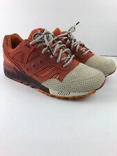 PRE-OWNED SAUCONY X END CLOTHING GRID SD PUMPKIN SPICE SIZE 9 S70333 1