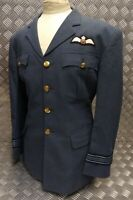 Genuine British RAF No1 Issue Jacket Officers Ribbon Kings Crown (KC) Faulty