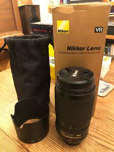 Nikon AF-S VR Zoom-Nikkor 70-300mm f4.5-5.6 G IF-ED Lens with Toyo UV Filter