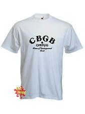 CBGB UNDERGROUND ROCK Cbgbs Punk Retro Camiseta Todas Las Tallas