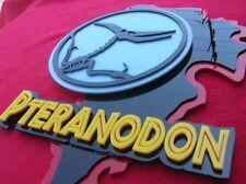 Pteranodon 3D sign ART new wall Raptor Dinosaur fossil Jurassic Velociraptor