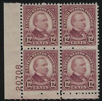 US Stamps - Scott # 693 - Plate # Block of 4 - Mint Never Hinged         (D-104)