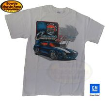 67 68 69 CAMARO BLOWN AWAY T-SHIRT TEE SHIRT WHITE OFFICALLY GM LICENSED