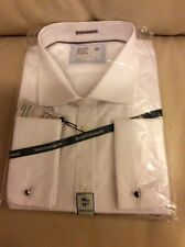 Savile Row Luxury Fine Cotton Shirt Long Sleeve Size: 19
