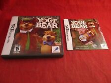 Yogi Bear Nintendo DS Empty Case & Manual ONLY (no game)