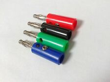 40 PCS 4mm banana plug FOR Power Amplifiers Binding Post connector