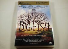 Big Fish Dvd Ewan McGregor, Albert Finney, Billy Crudup, Jessica Lange