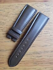 Bell & Ross 22mm Dark Brown Calf Leather Deployment Strap  Never Used - GENUINE