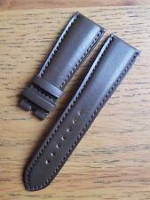 Bell & Ross 22 mm marron foncé cuir veau Déploiement Bracelet jamais utilisé-Authentique