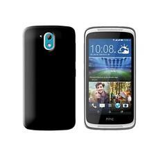 Cover per HTC Desire 526G+, in silicone TPU trasparente Nero