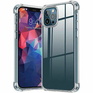 Shockproof Clear Case For iPhone 12/12 Pro /12 Pro Max /11 /11 Pro /11 Pro Max