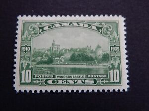 """#215 MH  Picturesque, well-centred 10c """"Windsor Castle""""  CV= $12.00"""