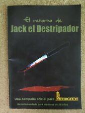 Libro Rol.Phenomena,El Retorno de Jack El Destripador.La Factoria