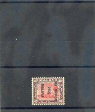 Malaya, Japan Occ Sc N24(Sg J257)*Vf Nh 1942 40c Scarlet & Purple $10