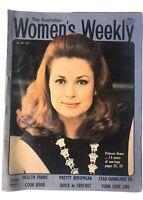 Woman's Weekly Magazine 1971 GRACE KELLY, Zandra Rhodes