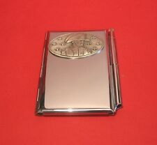 Napoleon and Bees Chrome Notebook / Card Holder & Pen History Christmas Gift