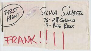 RARE SYLVIA MCFARLAND SINGER BLACK PINUP PAPERWORK & FILM ENVELOPE BY VOGEL 1974