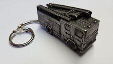 Dennis Fire Engine circa 1990 3D snake keyring FULL CAR ref62