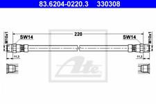 Heckflosse Satz MB11 Bremsleitungen Mercedes Benz  W110
