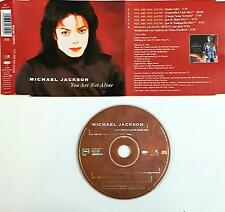 Michael Jackson ‎– You Are Not Alone Cd Single Singolo