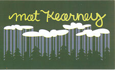Mat Kearney Nothing Left To Lose RARE promo sticker '06