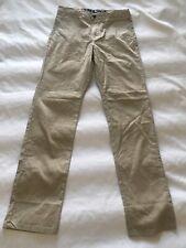 Shaun White Skinny Gray Pants Jambe Moulante Youth Boys Size 16 100% Cotton