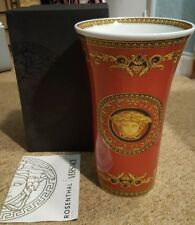 BNiB VERSACE by Rosenthal (Germany) Medusa Red Vase 34cm. Courier welcome! 1910de95bf5