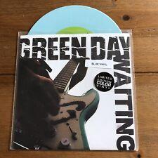 "Green Day - Waiting 7"" Blue Vinyl"