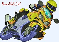 AUSTRALIAN SITE: MOTORCYCLE 5 and 6 - Top Notch Embroidery Designs on a CD