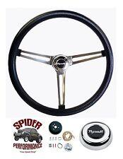 "1968-1969 GTX Roadrunner steering wheel STAINLESS 15"" Grant steering wheel"