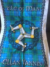 Isle of Man Manx Tartan Tea Towel - Brand new