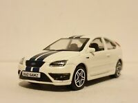 FORD FOCUS ST - WHITE 1.43 PERSONALISED DIECAST MODEL CAR BOXED NEW BOYS TOYS