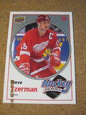 2010 11 Upper Deck Series 1 Hockey Heroes #HH  4 Steve Yzerman - Red Wings     X