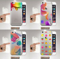 Cover per,Iphone,TRASPARENTE,silicone,morbido,tropicale,colori,natura