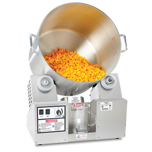 2703-00-000 - CHEESECORN COMMERCIAL TUMBLER - 8 GAL - TOP OF THE LINE