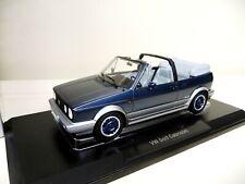 1:18 NOREV VW Golf 1 Cabriolet Bel Air blau blue  metallic NEU NEW