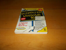 Windows 95 for Dummies (243p) - with disk - Never Used/As New