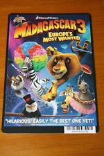 COLLECTIBLE MADAGASCAR 3: EUROPE'S MOST WANTED MINI POSTER