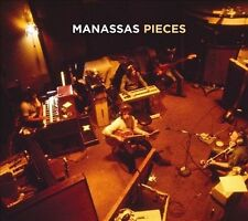 Pieces [Digipak] by Manassas/Stephen Stills (CD, Sep-2009, Eyewall Records)