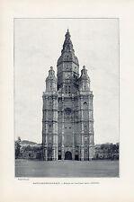 59 SAINT AMAND LES EAUX ANCIENNE EGLISE ABBATIALE IMAGE 1900