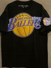 "187 Inc Men's T-Shirt ""Los Angeles Ballers"" -- Black"