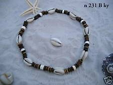 SURFER STYLE KAURI SHELL NECKLACE coco surf / n231Bky