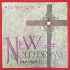 1982 SIMPLE MINDS NEW GOLD DREAM VINYL LP RECORD ALBUM WITH Inner SLEAVE