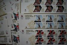 6 x Sets 29x Team Gb Gold Medal London 2012 Olympics 174 mint first class stamps