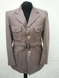 "Vintage 1970's John Collier Safari Blazer Jacket 40"" Chest Medium"
